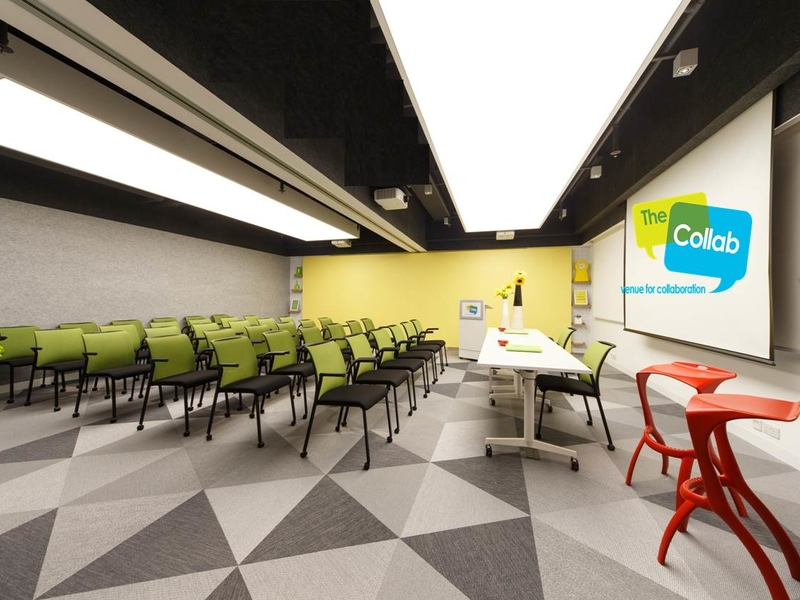 the collab large space for conference events in hong kong