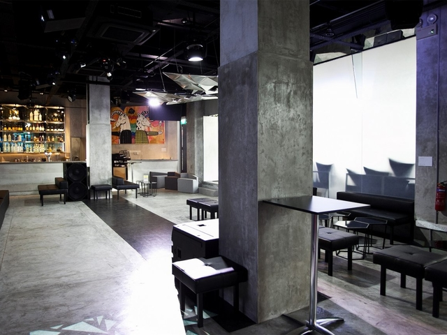 multifunctional venue with industrial style