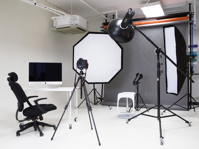 photo and video shoot property setup