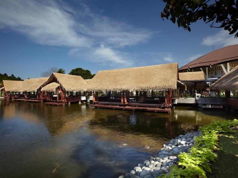 talaga sampireun ancol nature style restaurant jakarta