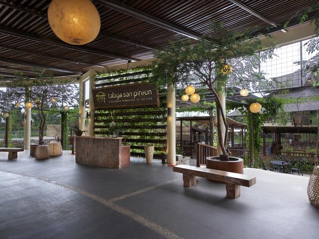 talaga sampireun bintaro traditional style venue tangerang