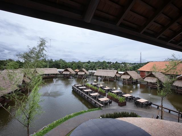 talaga sampireun bintaro outdoor restaurant for event tangerang
