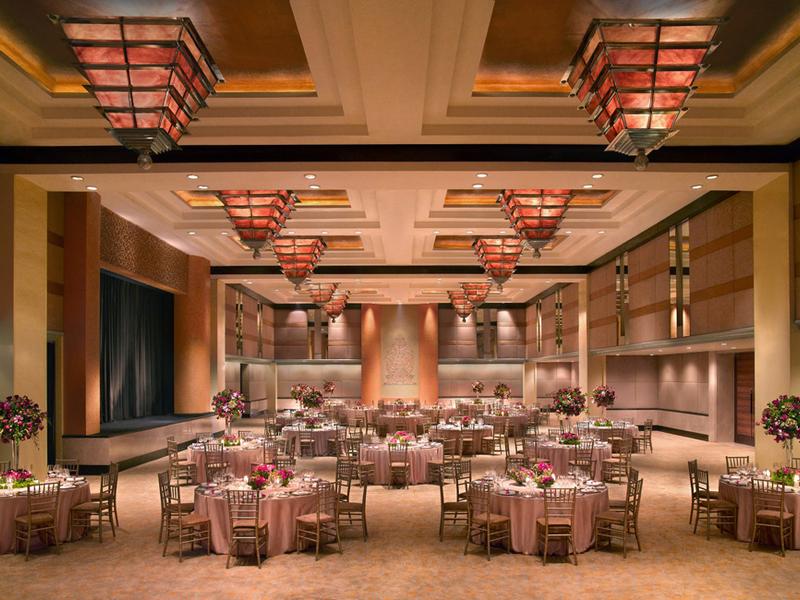 grand hyatt jakarta ballroom penthouse corporate dinner dance event jakarta