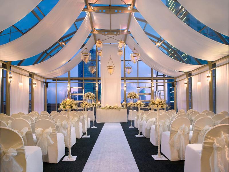 grand hyatt jakarta ballroom penthouse glamour wedding venue central jakarta