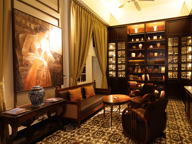 The hermitage cigar room classic elegant lounge for rent jakarta medium