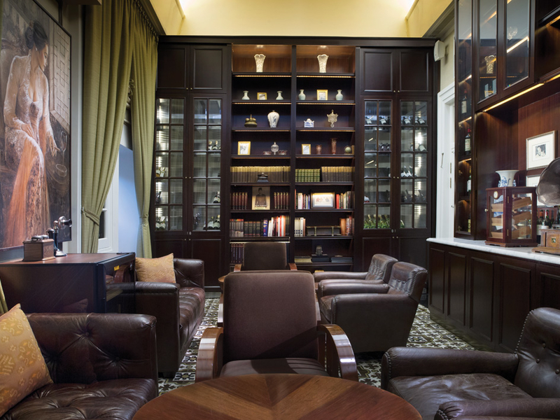 the hermitage cigar room cool place for bachelor party jakarta
