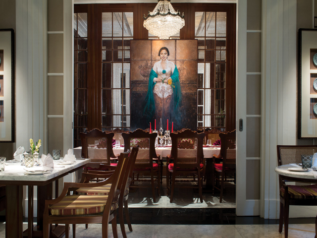 l avenue restaurant classic javanese style central jakarta