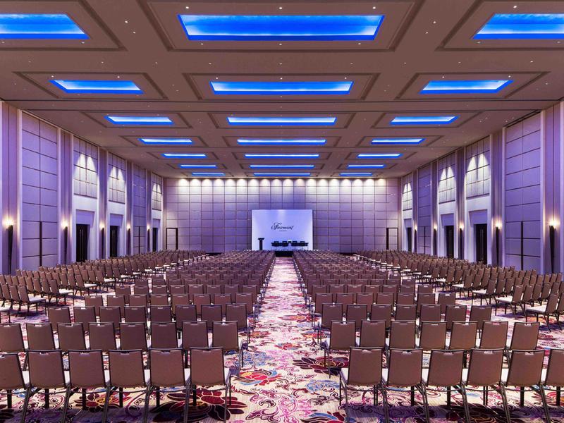fairmont jakarta ballroom with luxury style jakarta