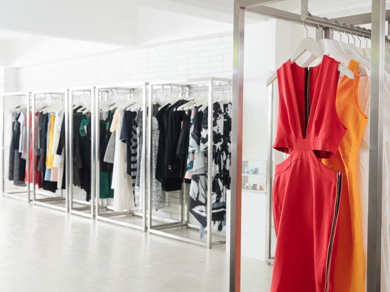 the collectives fashion showroom space