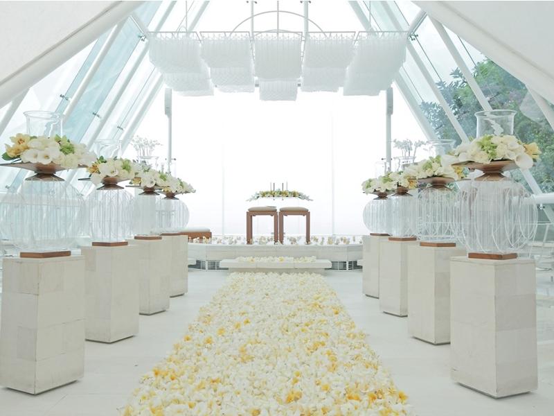 tirtha bridal glasshouse style chapel bali