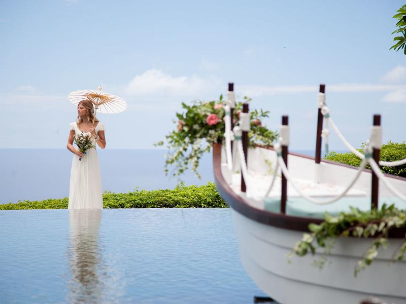 tirtha bridal romatic pre wedding spot bali