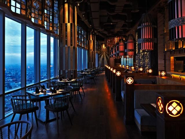 enmaru japanese restaurant for romantic dinner jakarta