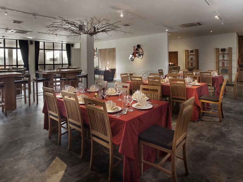 koi kemang christmas dinner event restaurant south jakarta