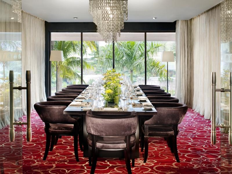 lyon at mandarin oriental jakarta restaurant with private room