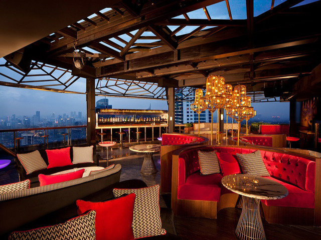 cloud lounge dining rooftop party venue jakarta