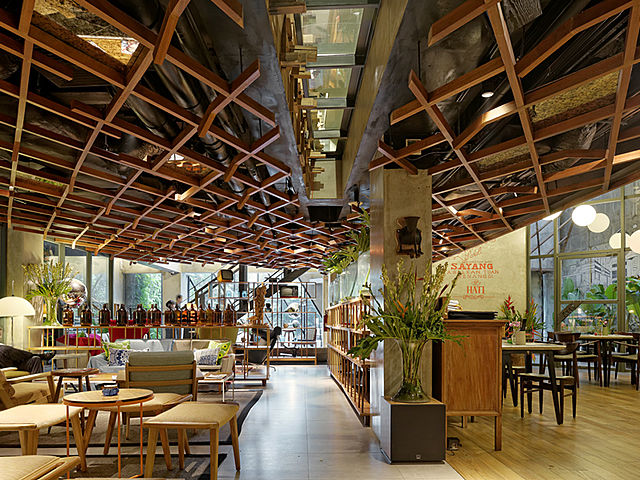 Trendy and hip event space at Waha Kitchen