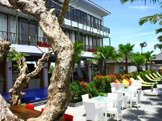 sawah joglo boutique villa resto family friendly restaurant yogyakarta
