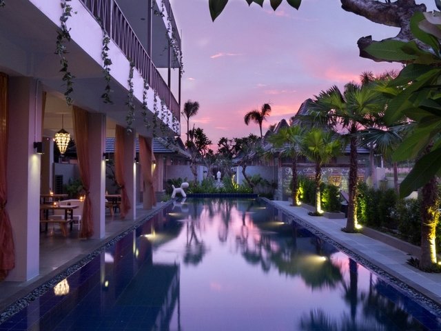 sawah joglo boutique villa resto pool party venue yogyakarta