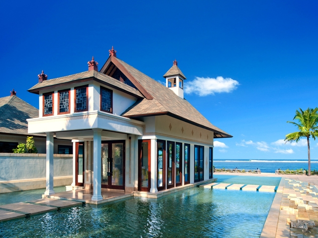 The st regis bali resort exclusive private villa for rent medium