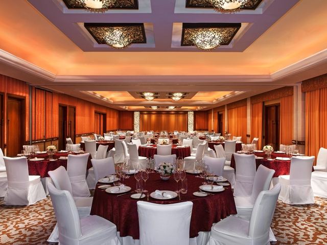 the st regis bali resort gala dinner ballroom