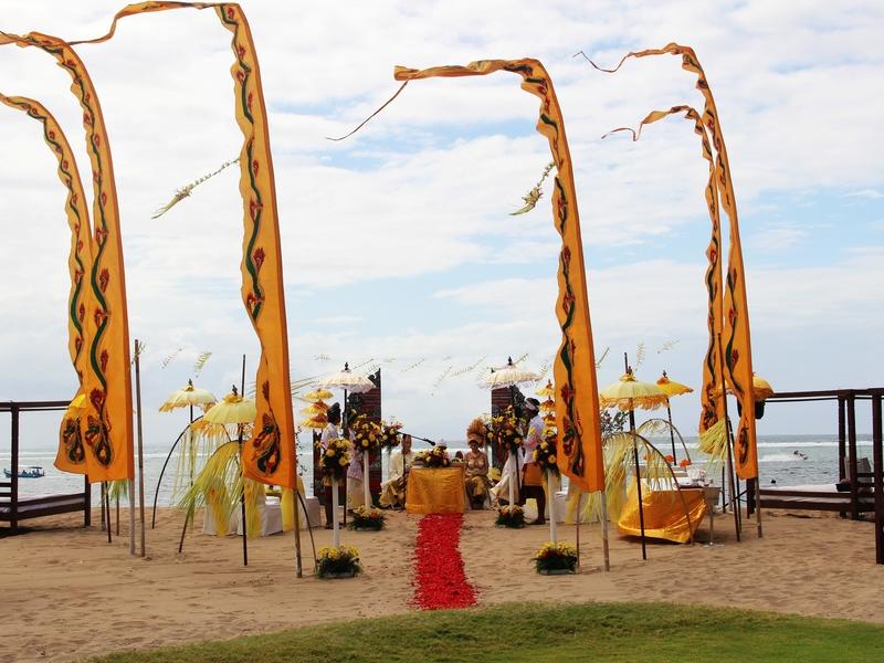 grand mirage resort and thalasso bali ballroom chapel wedding beach wedding rama stage year end party space bali