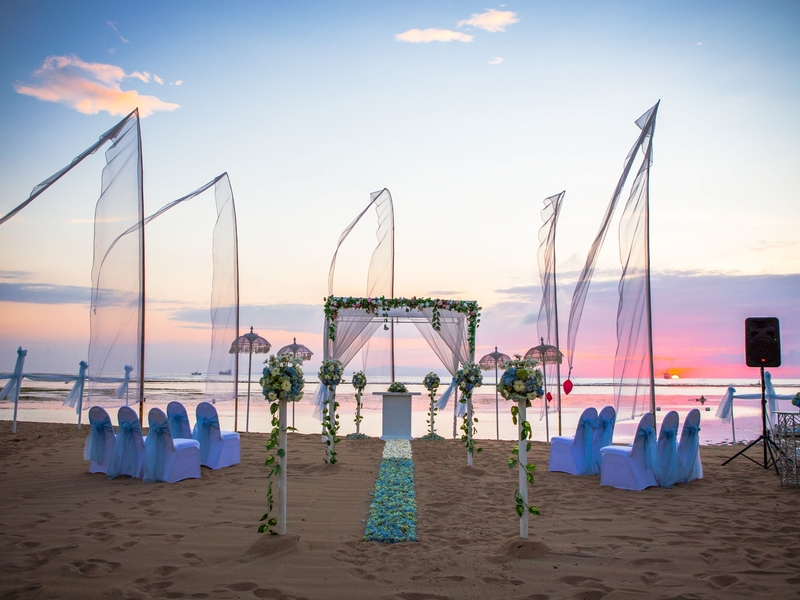 grand mirage resort and thalasso bali ballroom chapel wedding beach wedding rama stage cool barefoot event space bali