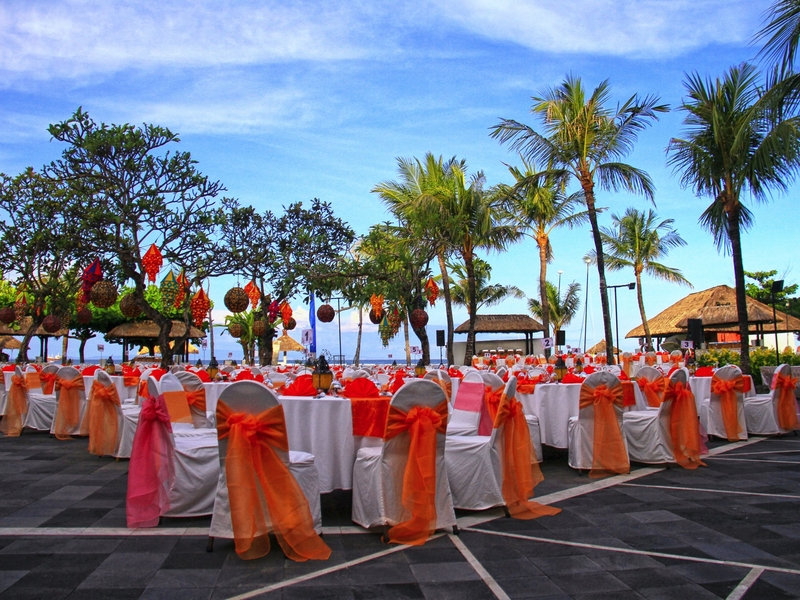 grand mirage resort and thalasso bali ballroom chapel wedding beach wedding rama stage corporate anniversary event bali