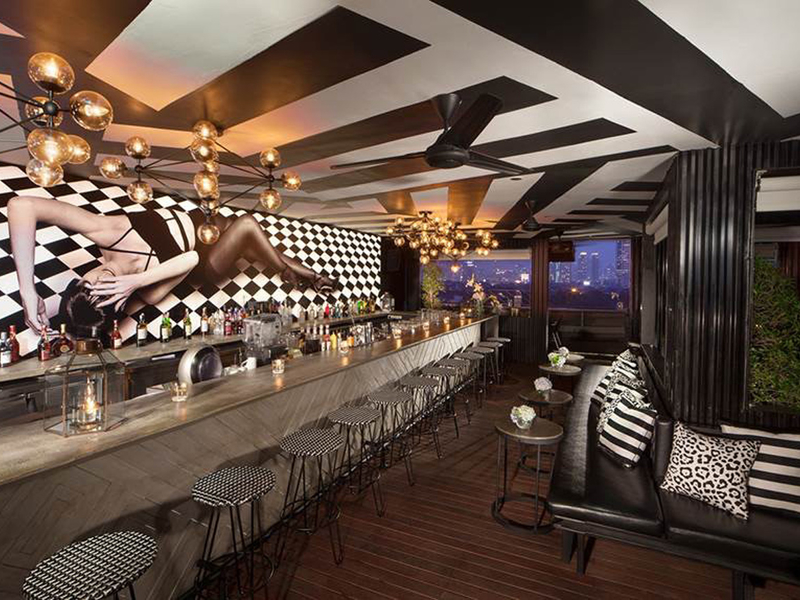 bart artotel thamrin jakarta bachelor party space