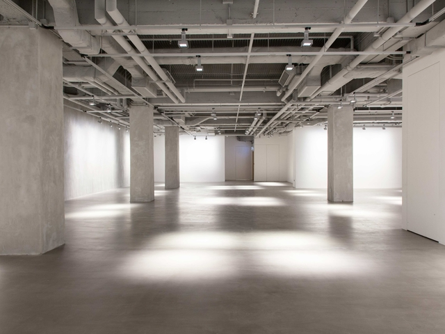 empty large space for events in the annex