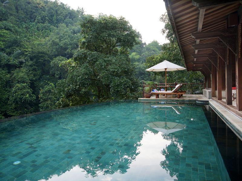 ayung resort ubud bridal shower pool party bali