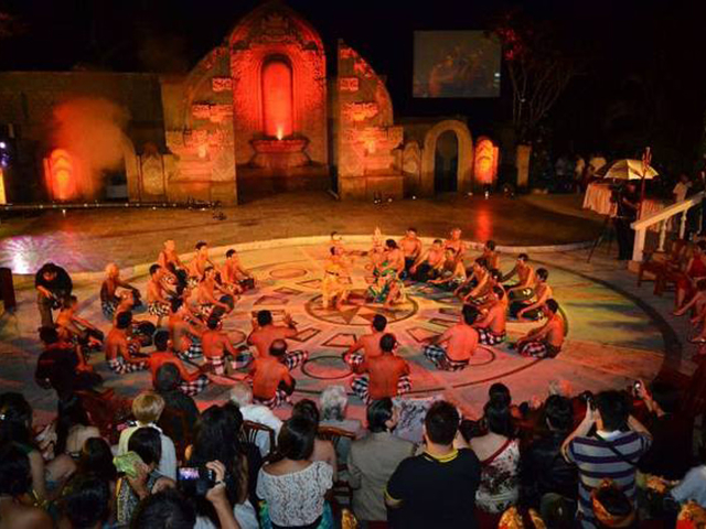 ayung resort ubud best place to watch kecak dance bali