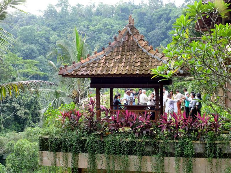 ayung resort ubud beautiful prewedding venue bali