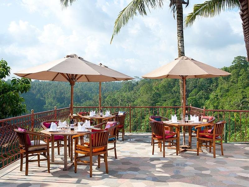 ayung resort ubud tea time event venue bali