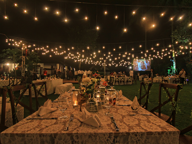 club house garden mesastila garden wedding party magelang