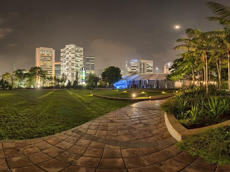 the atrium ballroom function rooms anggrek 1 5 the garden sampoerna strategic square rooftop garden style venue jakarta