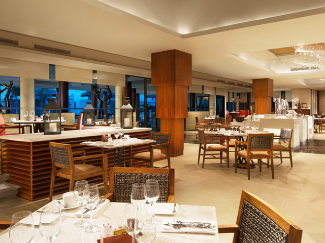 samabe bali suites villas canang main meeting room corporate dinner restaurant bali