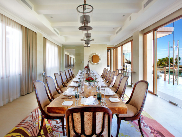 samabe bali suites villas canang main meeting room private dinner event bali