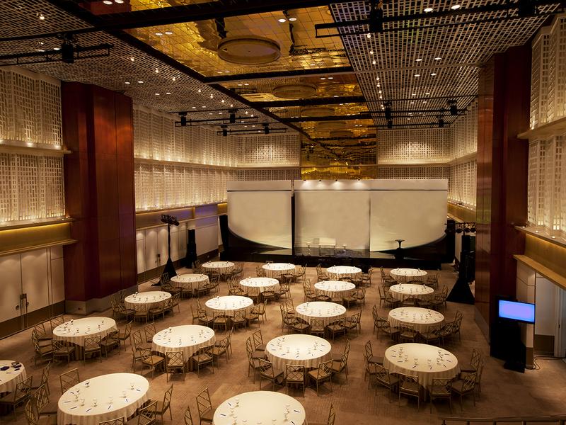 thamrin nine ballroom table manner event venue jakarta