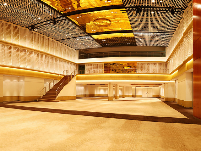 thamrin nine ballroom with high ceiling central jakarta