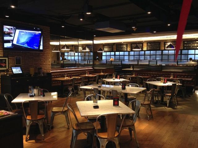 brewerkz restaurant bar senayan city pool bar event jakarta