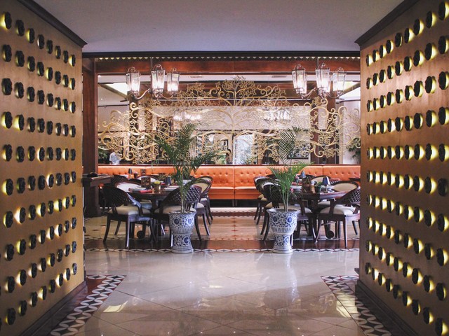 Harum manis elegant style restaurant central jakarta medium