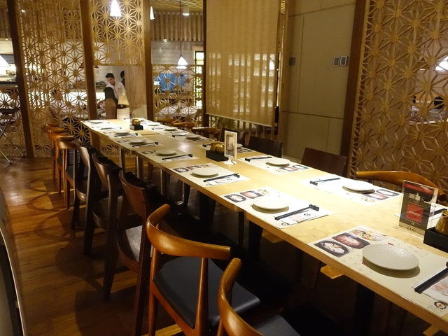 En dining plaza indonesia private room restaurant jakarta medium