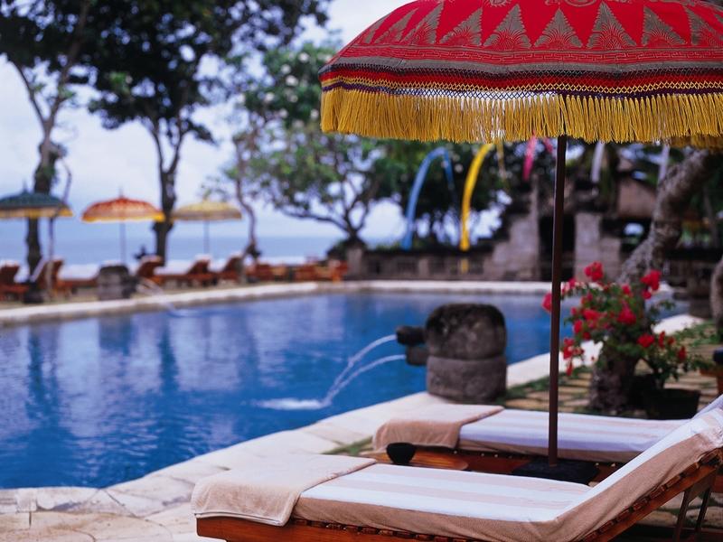the oberoi bali cool pool party venue badung