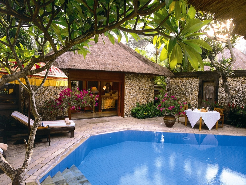 the oberoi bali chill place for holiday