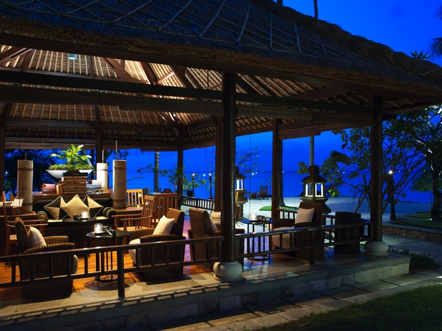 the oberoi beach resort lombok best villa for family time
