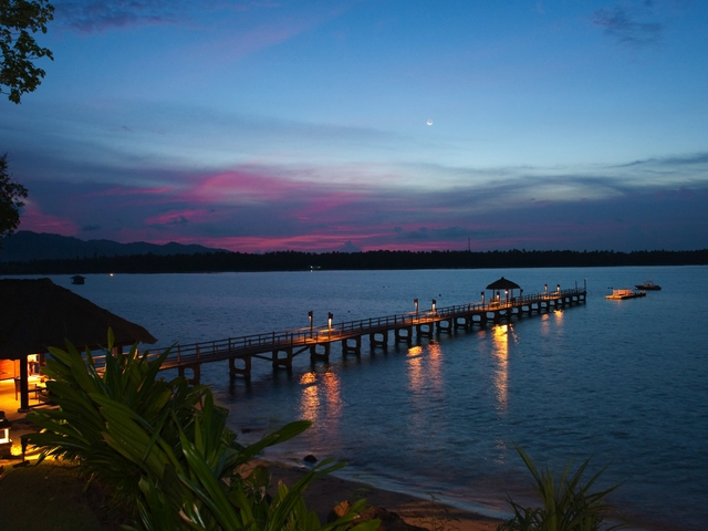 the oberoi beach resort lombok wedding by the beach package