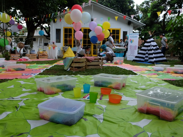 twin house outdoor event space jakarta