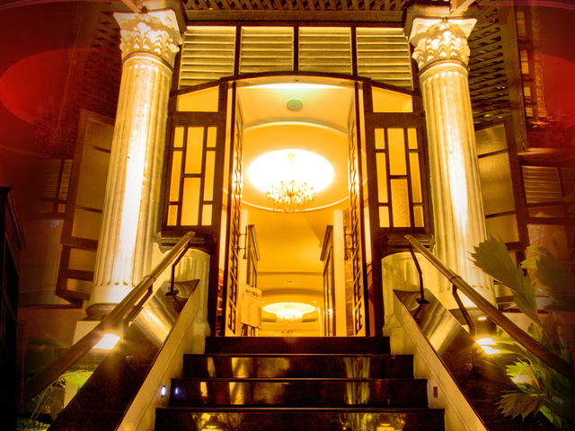 singapore party event space entrance with stairs