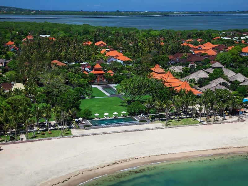 taman bhagawan bali event space with beautiful beach