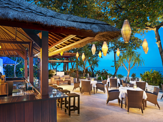 the laguna a luxury collection resort spa bali cocktail beach party